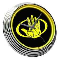 "Body Glove 14.75"" Neon Wall Clock"