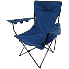 Outdoor King Pin Folding Chair in Blue