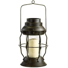 Iron and Glass Willow Lantern