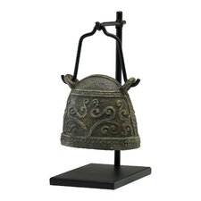 Antique Livestock Bell Sculpture