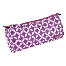 Scribble Pencil Case in Purple
