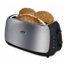 4-Slice Retractable Cord Long-Slot Toaster