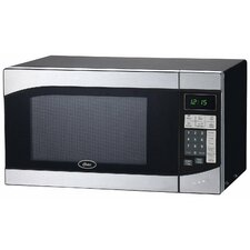 0.9 Cu. Ft. 900W Countertop Microwave in Stainless Steel