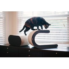Arty Recycled Paper Cat Scratcher Board