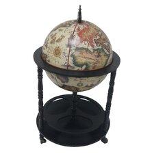 16th Century Italian Style Floor Globe Bar