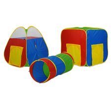 Multiplex 3 Piece Play Set with 24 Balls