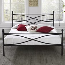Rosalyn Metal Panel Bed