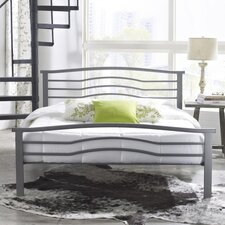 Serena Metal Panel Bed