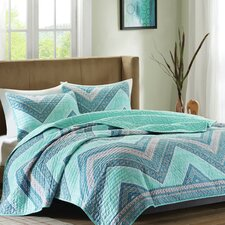 Marine 3 Piece Coverlet Set
