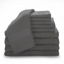 Super Plush Egyptian Cotton 12 Piece Towel Set