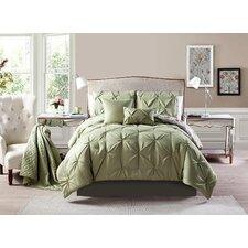 Evelyn 6 Piece Full/Queen Comforter Set
