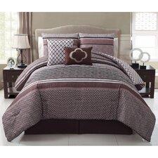Saria 8 Piece Full Comforter Set