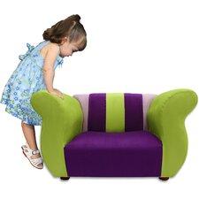 Kid's Fancy Microsuede Chair