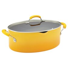 Porcelain II Nonstick 8 Qt. Stock Pot with Lid