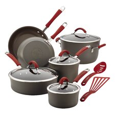 Cucina Hard-Anodized Nonstick 12 Piece Cookware Set