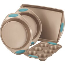 Cucina Nonstick 4 Piece Bakeware Set