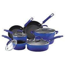 Hard Enamel Nonstick 10 Piece Cookware Set