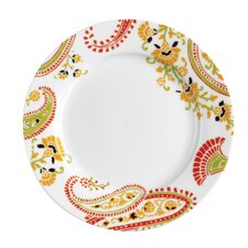 "Paisley 8"" Salad or Dessert Plate (Set of 4)"