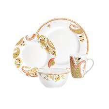 Paisley 4 Piece Place Setting Set