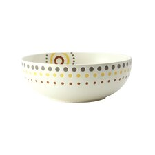 Circles and Dots Salad Bowl