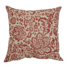Fairhaven Damask Throw Pillow