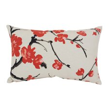Flowering Branch Throw Pillow