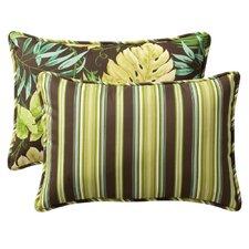 Reversible Outdoor Lumbar Pillow (Set of 2)