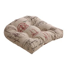 French Outdoor Chair Cushion