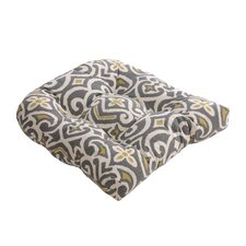Damask Outdoor Chair Cushion