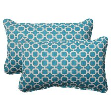 Hockley Corded Indoor/Outdoor Lumbar Pillow (Set of 2)