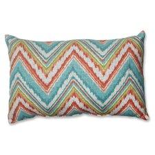 Chevron Cherade Lumbar Pillow