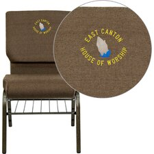 Hercules Series Personalized Guest Chair
