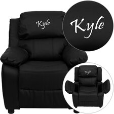 Personalized Kids Deluxe Recliner