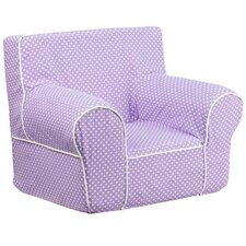 Kid's Club Chair with White Piping