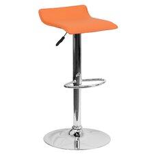 Contemporary Adjustable Height Swivel Bar Stool
