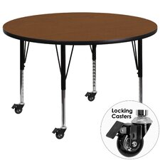 Mobile Round Classroom Table