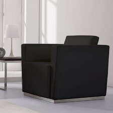 Hercules Trinity Series Leather Lounge Chair