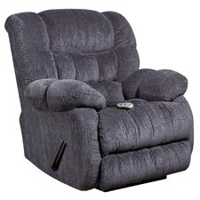 Columbia Massaging Microfiber Recliner with Heat Control