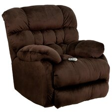 Sharpei Massaging Microfiber Recliner with Heat Control