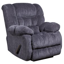 Columbia Contemporary Microfiber Rocker Recliner