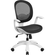 Mid-Back Mesh Chair with Arms
