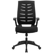 High Back Mesh Conference Chair with Arms