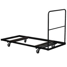 Steel Folding Rectangular Folding Table Dolly