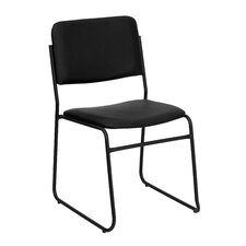 Hercules Series Armless Office Stacking Chair