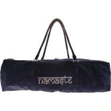 Namaste Yoga Kit Bag in Navy Blue