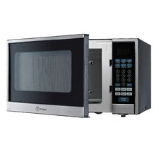 1.1 Cu. Ft. 1000W Stainless Steel Microwave