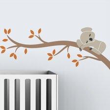 Tree Branches Koala I Wall Decal