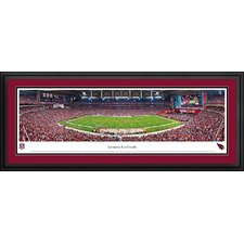 NFL 50 Yard Line Deluxe Frame Panorama