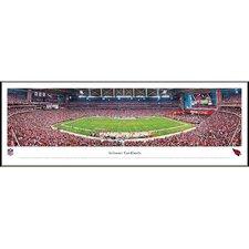 NFL 50 Yard Line Standard Frame Panorama
