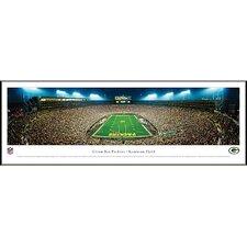 NFL End Zone Standard Framed Photographic Print
